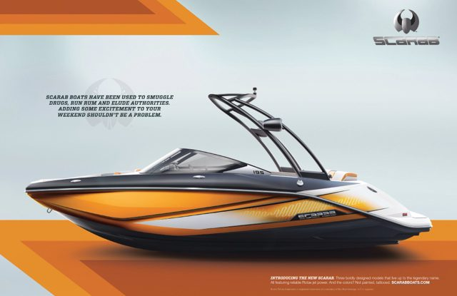 Scarab boats are back