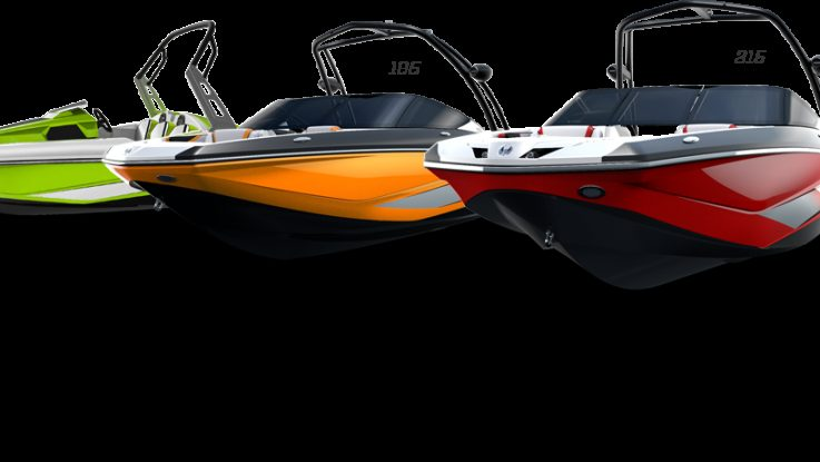 Scarab Jet Boats have arrived