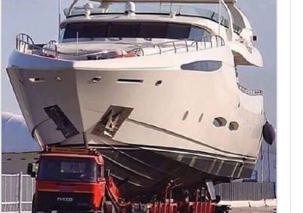 just a trailer boat